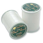 Sono Bead Thread - White - 100M