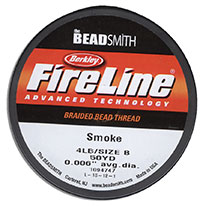 FireLine Braided Bead Thread - 4 LB Size B