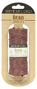 Hemp Cord - 50 Gram Spool - Brown