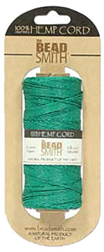 Hemp Cord - 50 Gram Spool - Green