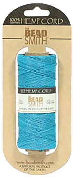 Hemp Cord - 50 Gram Spool - Slate Blue