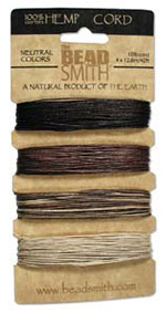 Hemp Cord Assortment - Neutral Colors