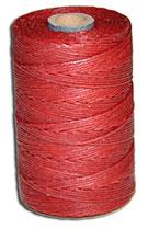 Waxed Irish Linen Thread - Country Red - 4 Cord - 50 Gram Spool