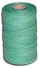 Waxed Irish Linen Thread - Sage Green - 4 Cord - 50 Gram Spool