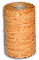 Waxed Irish Linen Thread - Butterscotch - 4 Cord - 50 Gram Spool