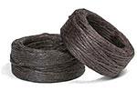 Waxed Linen Thread - 10 YD Bobbin - Brown