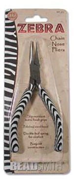 Zebra Chain Nose Plier