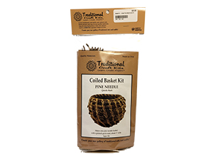 Basket Kit - Coiled Pine Needle