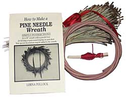 Basket Kit - Pine Needle Wreath