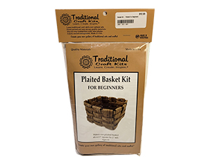Plaited Basket Kit For Beginners