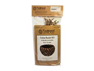 Coiled Basket Kit For Beginners - Pine Needle