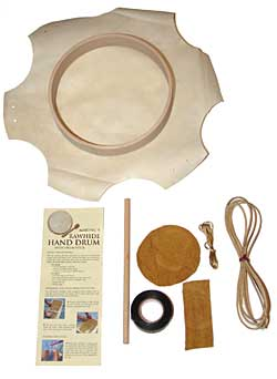 Rawhide Hand Drum Kit - 9