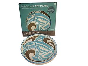 Northwest Art Plate - Killer Whale