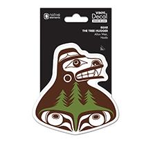 Northwest Decal - Bear the Tree Hugger