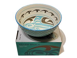 Northwest Art Bowl - Killer Whale