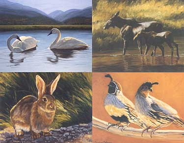 Crane Creek Note Cards - Nature's Colors Examples