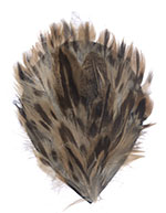 Feather Pad - Duck Plumage Pad - Natural Brown