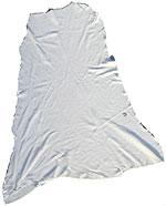 Commercial Tan Buckskin - White - Garment Weight