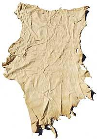Buckskin Craft Leather - Very Low Grade - Smoke
