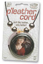 P'leather Cord - Black