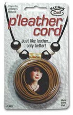P'leather Cord - Natural