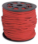 Ultra Micro Fiber Suede - Red