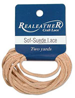 Sof-Suede Lace - Sandy Beach - 2 YD
