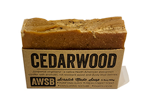 A Wild Soap Bar - Cedarwood