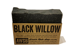 A Wild Soap Bar - Black Willow