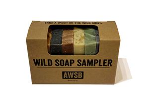 A Wild Soap Bar Sampler Pack