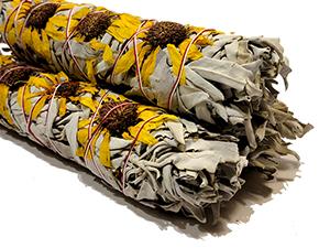 California White Sage / Sunflower Bundles