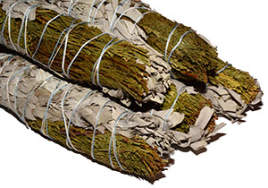 California White Sage / Cedar Smudge Bundles