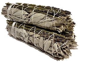 California White Sage / Lavender Bundles - Minis