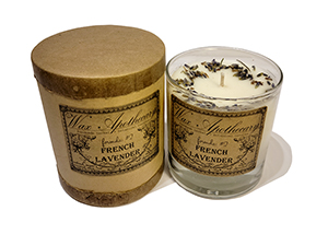 Wax Apothecary Candle - French Lavender