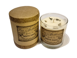 Wax Apothecary Candle - White Sage