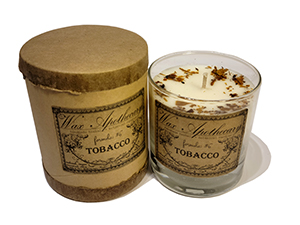 Wax Apothecary Candle - Tobacco