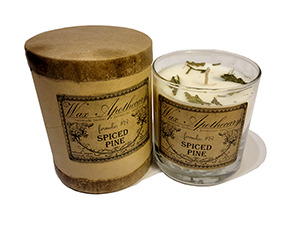 Wax Apothecary Candle - Spiced Pine