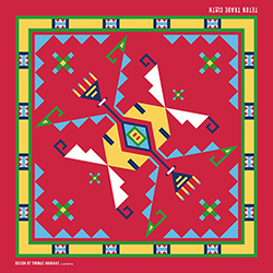 Teton Trade Cloth Bandana - Red