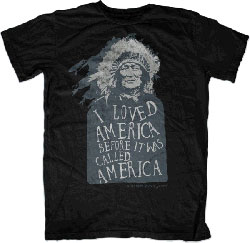 Native Threads T-Shirt - Before America