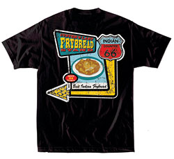 Native Threads T-Shirt - Frybread  - Black