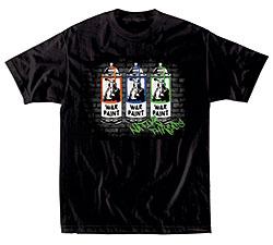 Native Threads T-Shirt - War Paint  - Black