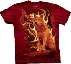 Mountain T-Shirt - Phoenix Wolf
