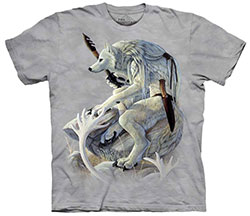 Mountain T-Shirt - White Wolf Spirit