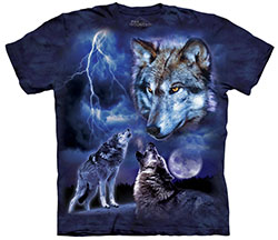 Mountain T-Shirt - Wolves of the Storm
