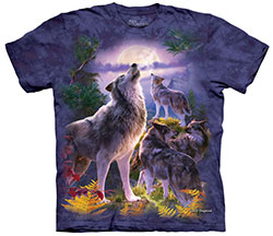 Mountain T-Shirt - Wolfpack Moon