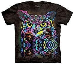 Mountain T-Shirt - Russo Owl