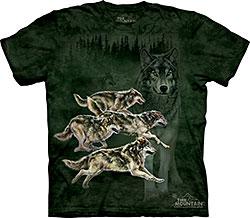 Mountain T-Shirt - Wolf Runner