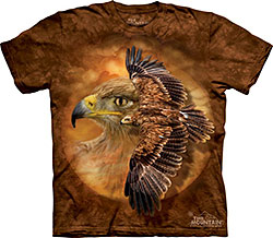 Mountain T-Shirt - Tawny Eagle Spirit