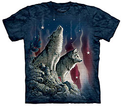 Mountain T-Shirt - Falling Stars