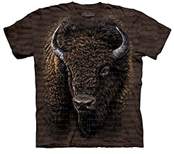 Mountain T-Shirt - American Buffalo